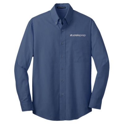 Port Authority - Cross Hatch Easy Care Shirt - Embroidered Logo Thumbnail