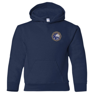 Gildan - Heavy Blend Youth Hooded Sweatshirt - Embroidered Logo Thumbnail