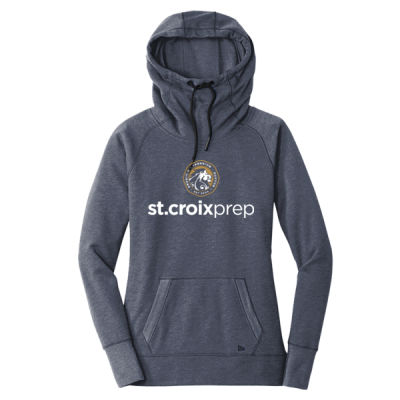 New Era - Ladies Tri-Blend Fleece Pullover Hoodie - Screen Printed Logo Thumbnail