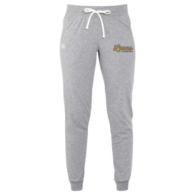 Russell Athletic - Women's Essential Jersey Joggers - Embroidered Logo Thumbnail