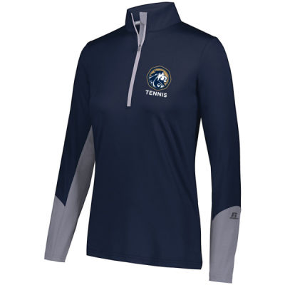 Russell Athletic - Ladies Hybrid Pullover - Screen Printed Logo Thumbnail