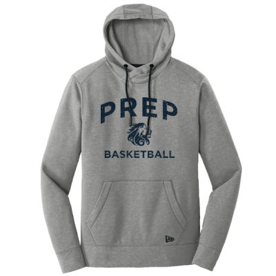 New Era - Tri Blend Fleece Pullover Hoodie - Screen Printed Logo Thumbnail