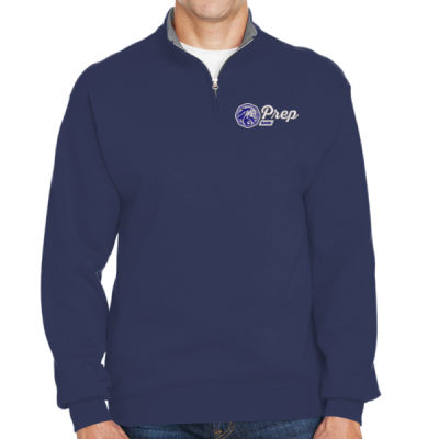BAND - ADULT SIZE - Fruit of the Loom - Sofspun® Quarter-Zip Sweatshirt - Embroidered Logo Thumbnail